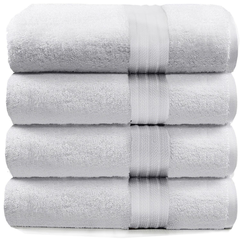 4 piece bath towels set for bathroom