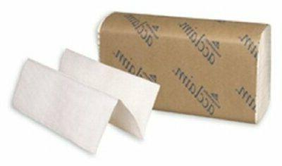 acclaim 20204 white multifold paper towel case