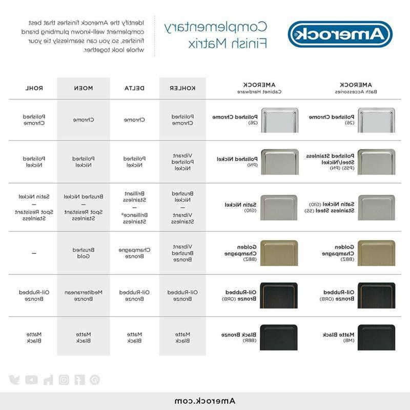 Amerock Bh26545Bbz 24 In Double Towel