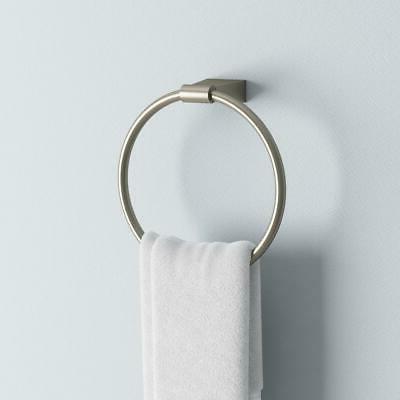 bleu wall mounted towel ring