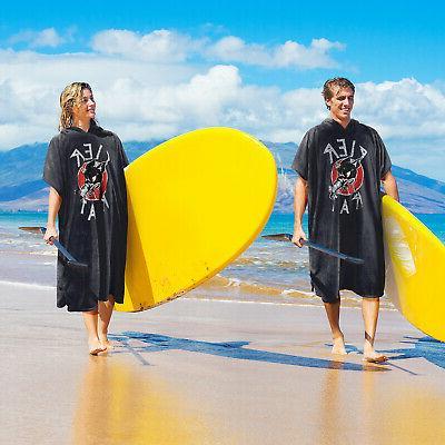 Catalonia Beach Surf Water Towel Hooded