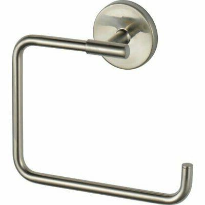 delta trinsic towel ring stainless steel