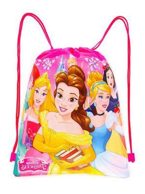 Girls Princesses Beach Towel & Bag 2-Piece
