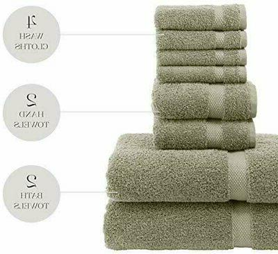 Luxury Set - Hotel Cotton 2/Bath -