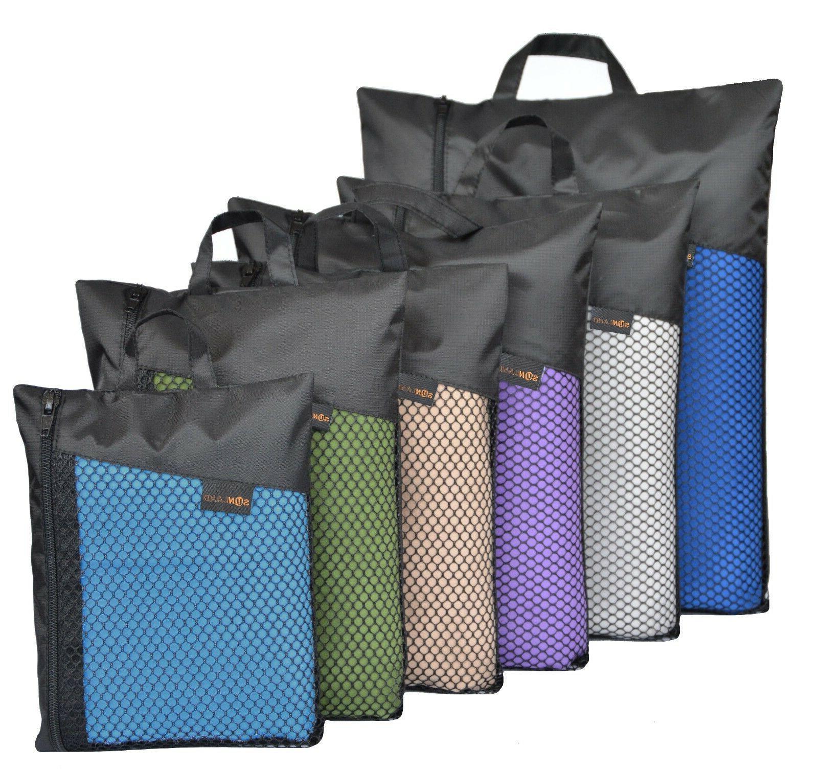 Sunland Microfiber Travel Beach Towel Extra Large Quick Dry