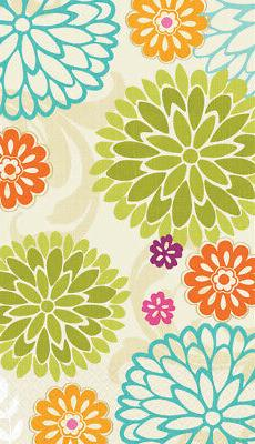 modern mums 16 count paper guest towels