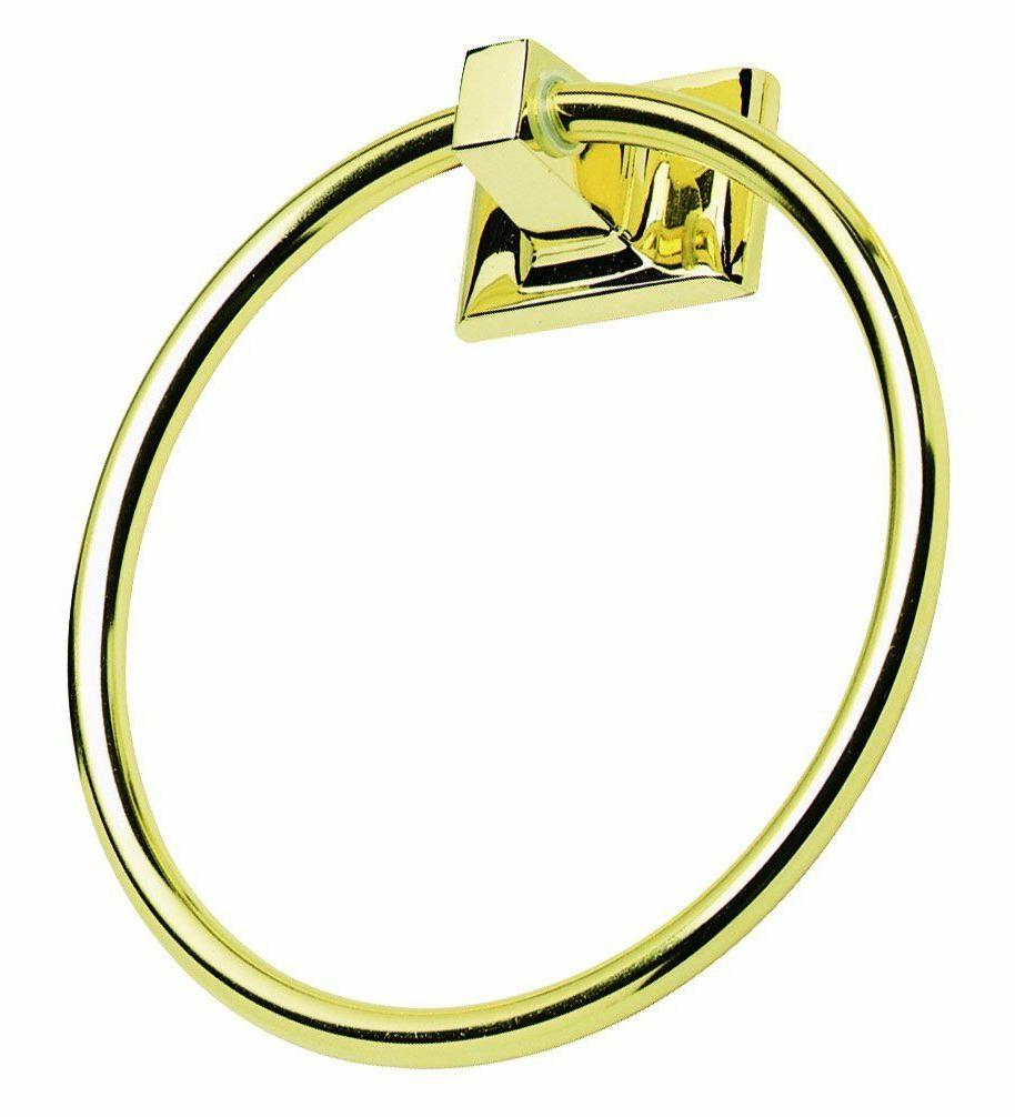 new millbridge towel ring polished brass 533349