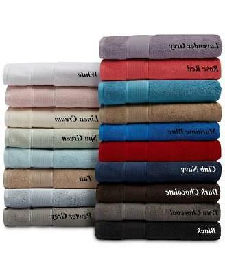 new sanders bath towel collection 100 percent
