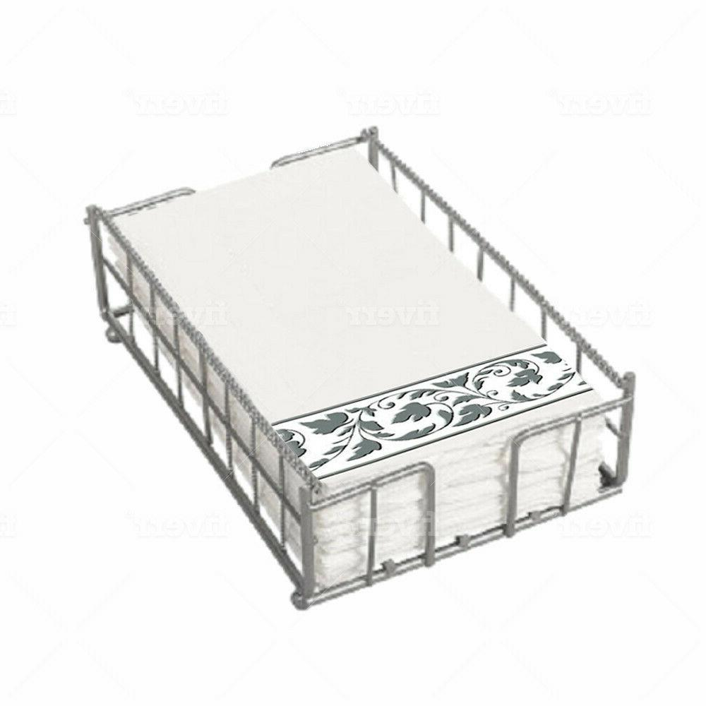 Silver Guest Holder Caddy Bathroom