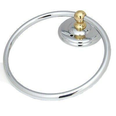 solid brass 6 hanging towel bathroom ring