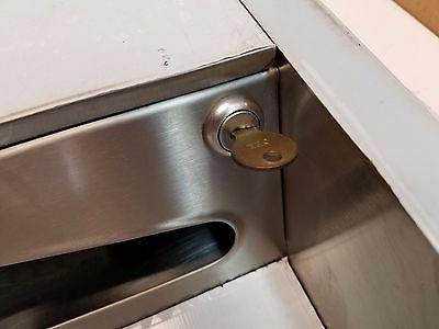 Stainless Towel Dispenser, Or
