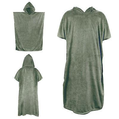Surf Beach Wetsuit Towel With Super Absorbent Robe Poncho