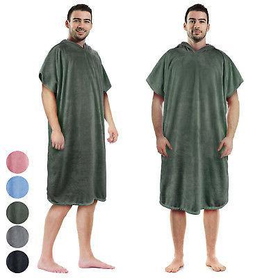 Surf Beach Towel Hood, Super Absorbent Poncho