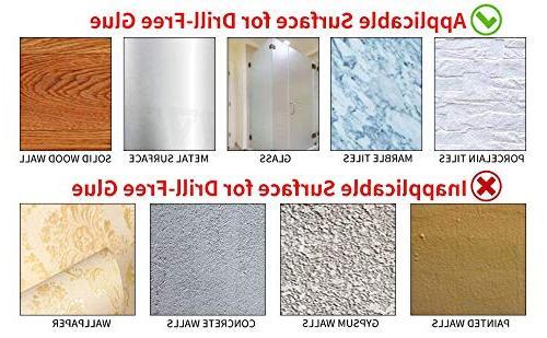 KES SUS 304 Steel Accessory Set RUSTPROOF Hook Paper Towel Ring Wall Brushed