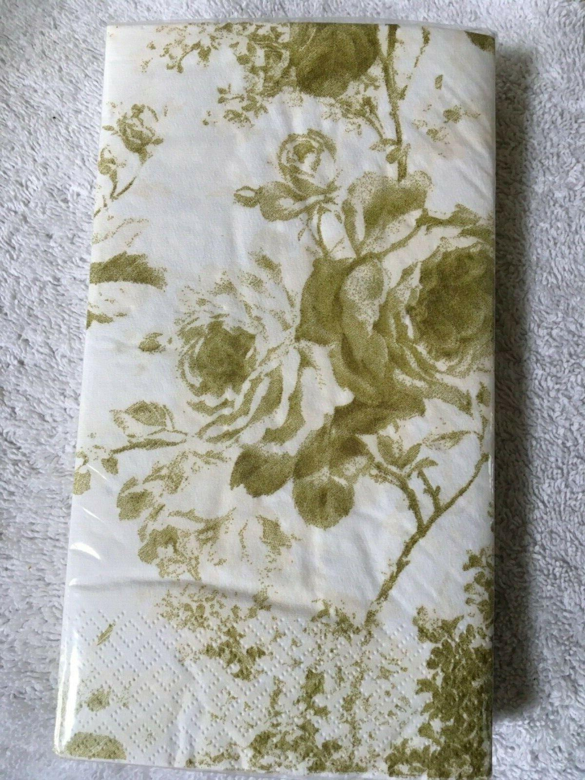 toile gold guest buffet towels 2 16