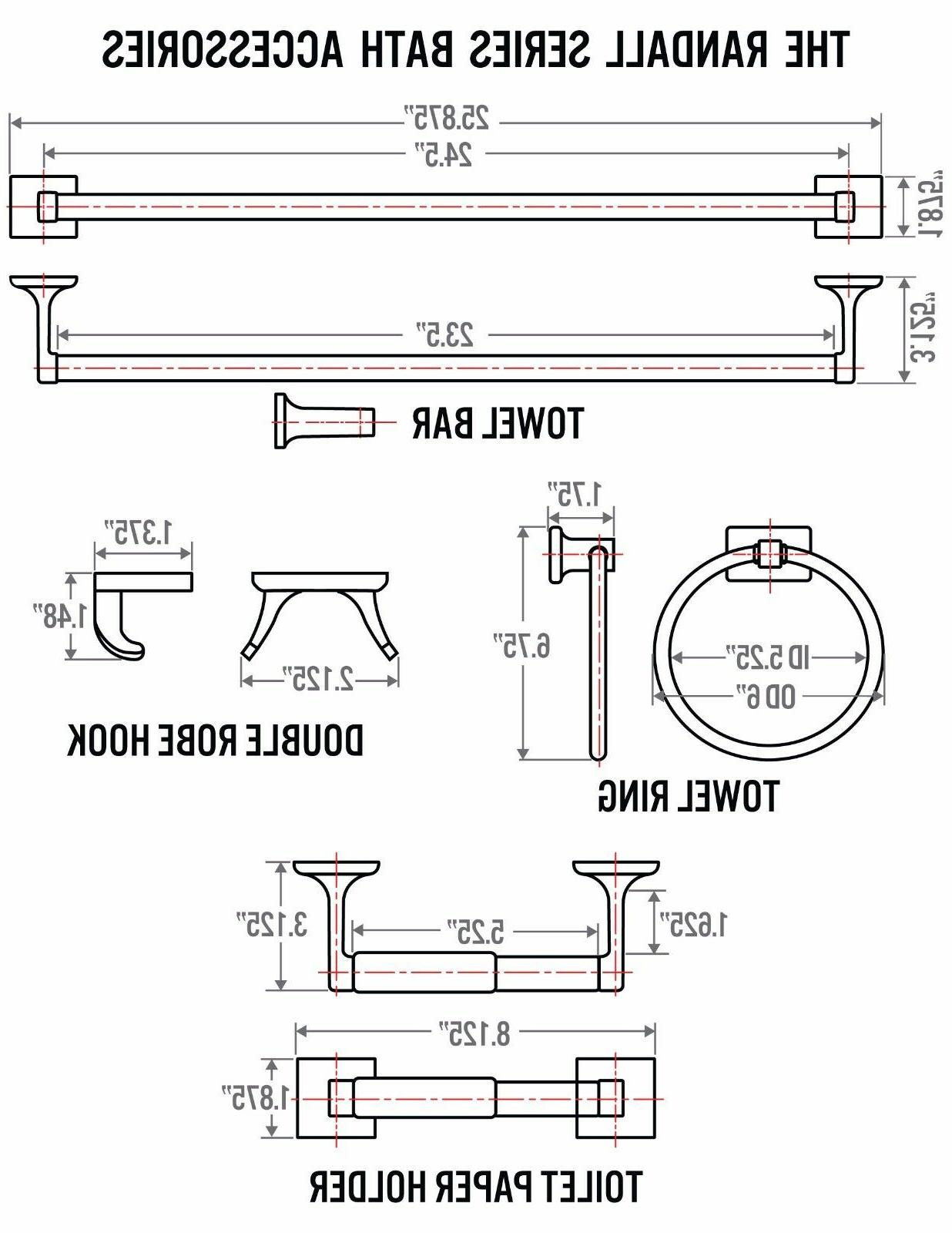 4 Set Hardware -
