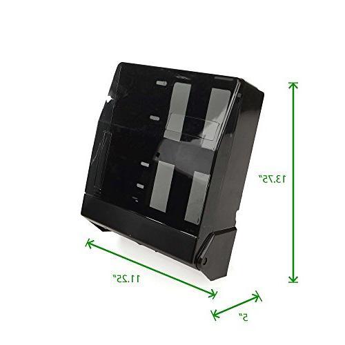 """Mind Translucent or Multifold Paper Dispenser, 5 """" H"""