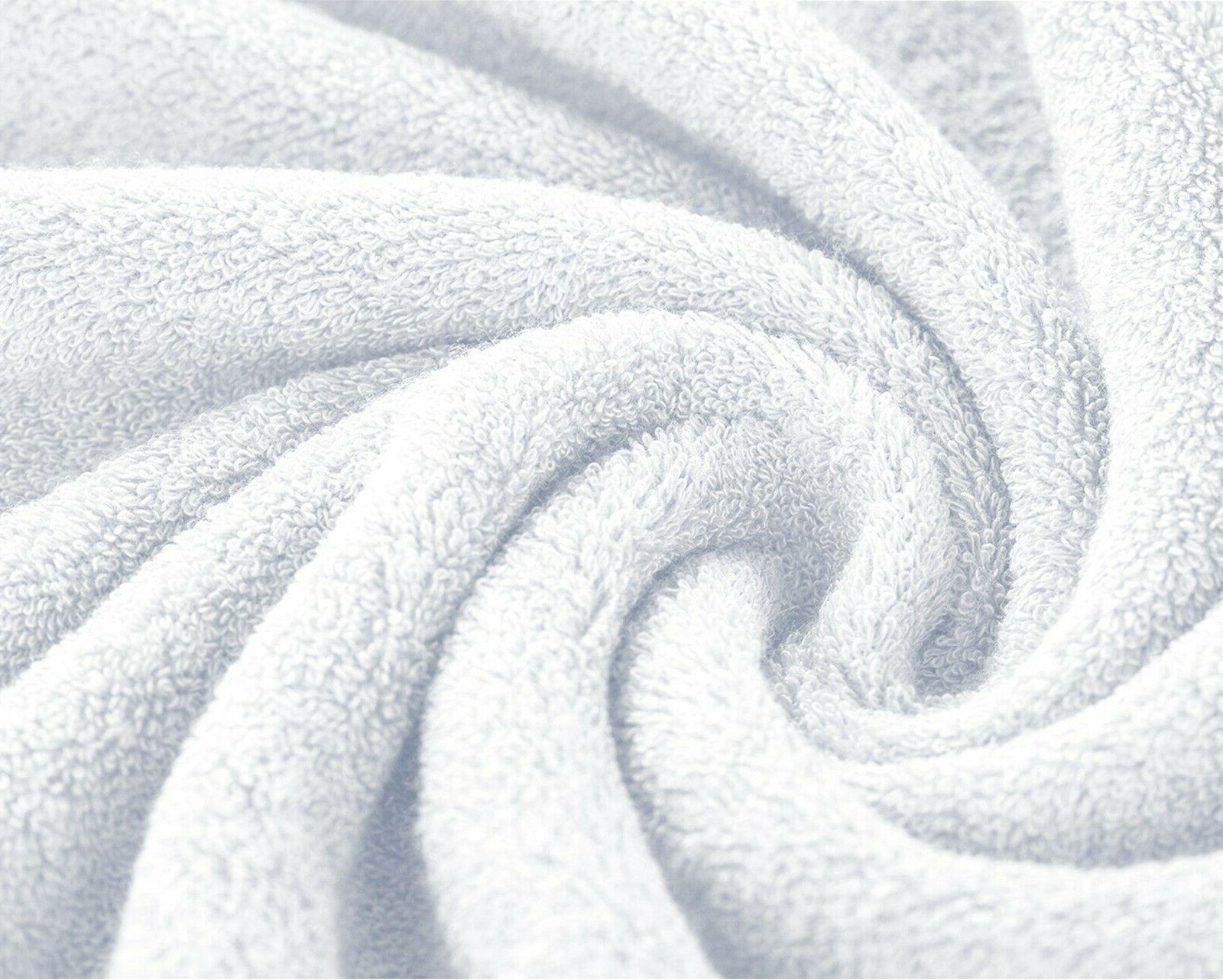 "Large Bath Packs Sets 100% Cotton 27""x58"" 450 GSM Absorbent"