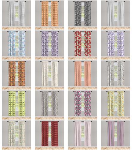 Window Drapes 2 Set Options Living Room 3