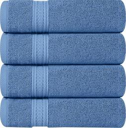 6 Pack Premium Large Hand Towels 700 GSM Cotton 16 x 28 Inch
