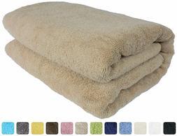 Luxury Spa 100% Combed Turkish Cotton Large Oversized Bath S
