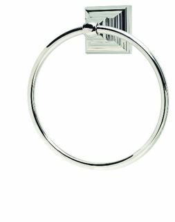 Amerock Markham Towel Ring, Polished Nickel