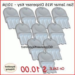 San Jamar N16 Dispenser Key for Paper Towel & Toilet Tissue