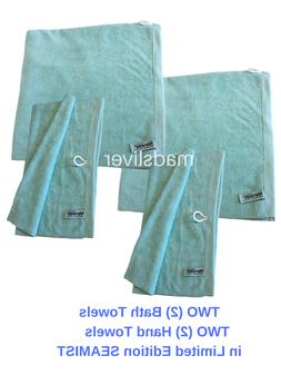 New! NORWEX Limited Edition  Bath Towels &  Hand Towel SEA M