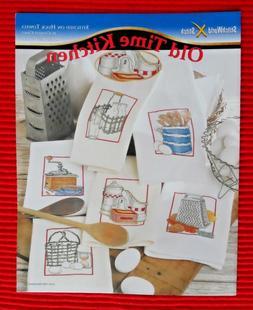 Old Time Kitchen Cross Stitch Charts by Stitch World Done on