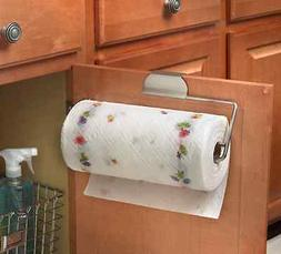 Over The Drawer Cabinet Door Mount Paper Towel Roll Holder S