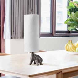 Paper Towel Holder Cast Iron Animal Holder Bath Tissue Toile