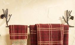"Pine Lodge Bathroom Towel Bar 24"""