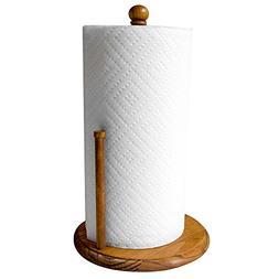 Home Basics Pine Paper Towel Holder Tan 1 Free Shipping