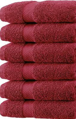 """SPRINGFIELD LINEN Premium 100% Cotton Soft-Bath Towels 27""""X5"""