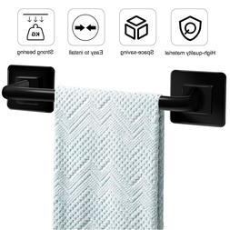 Self Adhesive Bathroom Towel Bar Wall Mount Holder Rack Non