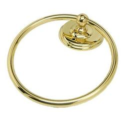"AMEROCK Solid Brass 6"" Hanging Bathroom Towel Ring Hardware"