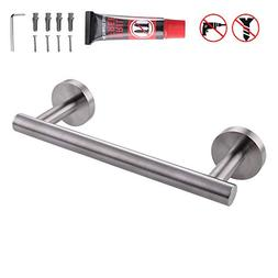 Kes Small Kitchen Towel Bar 9-Inch Stainless Steel Cabinet H