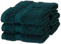 Superior 6-Piece Teal 900 Gram 100% Egyptian Cotton Bath Fac