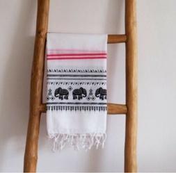Turkish 100 % Cotton Elephant Towel Fouta Pestamal for Beach