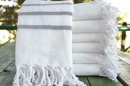 Turkish Cotton Kitchen Bathroom Hand Towels Face Towels, 18'