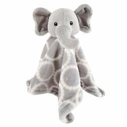 Hudson Baby Unisex Baby Security Blanket, Gray Elephant, One