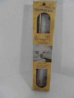 """Vtg. Gatco Designer II 18"""" Towel Rack, Solid Brass Protectiv"""
