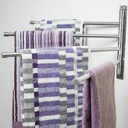 Swivel Towel Rack - Stainless Steel Swing Out Towel Bar - Sp