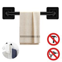 Wall Mounted Towel Rack Rail Self-Adhesive Bathroom Towel Ho